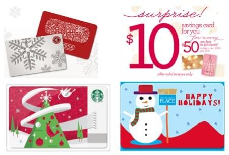 xmas gift card promotion tip save with restaurant and retailer gift card deals savings lifestyle