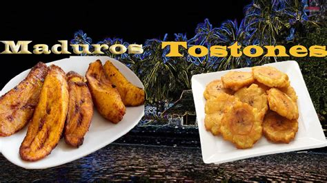 tostones  maduros side dish fried
