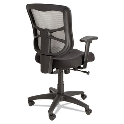 Alera Elusion Series Mesh Mid Back Swivel by Alera Elusion Series Mesh Mid Back Swivel Tilt Chair