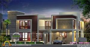Contemporary, House, With, Double, Height, Living