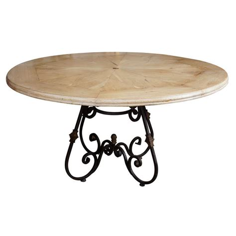 bleached oak dining table round bleached oak dining table at 1stdibs