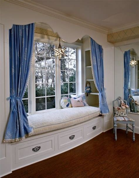 draperies add privacy room window seat kidspace