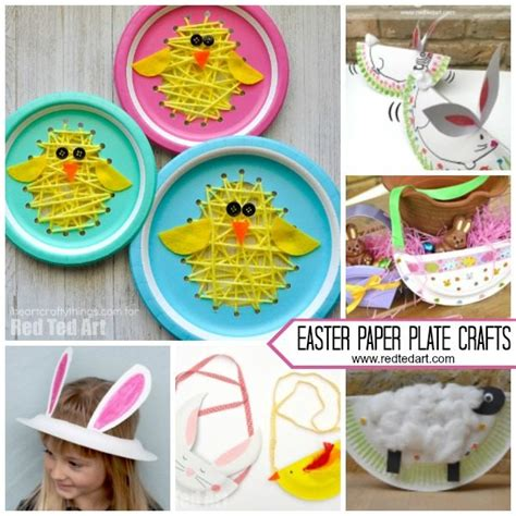 paper plate easter crafts for preschool ted 670 | Paper Plate Easter Crafts for Preschool 600x600