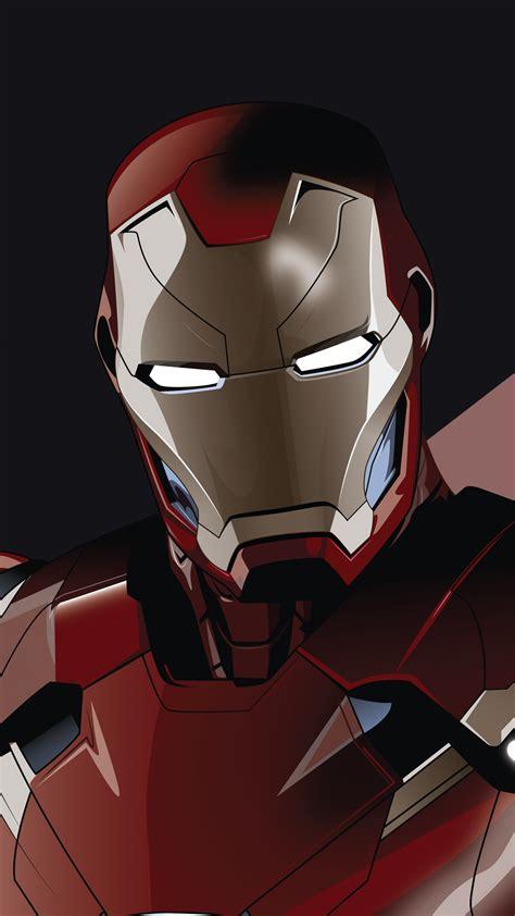 wallpaper iron man tony stark minimal hd  minimal