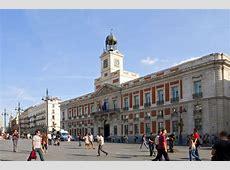 Puerta del Sol Madrid La Península Ibérica
