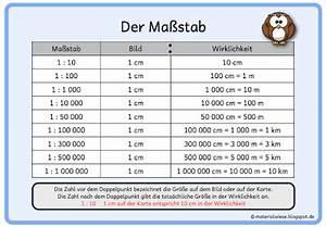 Maßstab Berechnen 5 Klasse Gymnasium : materialwiese merkplakate zum thema ma stab ~ Themetempest.com Abrechnung