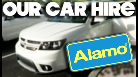 Our Alamo Suv Car Hire & Sat Nav