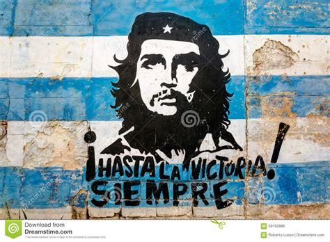 Hasta La Victoria Siempre Editorial Photo. Image Of