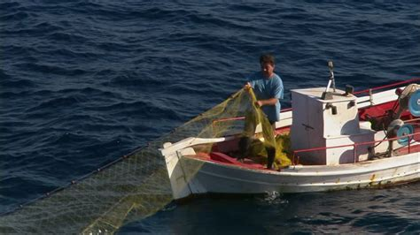 Fishing Boat Jobs Poole by Fisherman Boat Mediterranean Sea Hd Stock Video 109