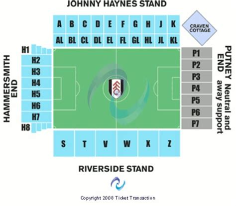 craven cottage seating plan craven cottage stadium tickets in greater
