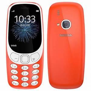 Nokia 3310  2017  Ta-1008 16mb  Warm Red