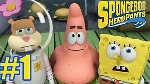 Spongebob Heropants Walkthrough Gameplay Part 1 Sponge