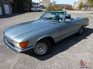 Sl Auto : 1980 mercedes 380 sl auto light blue metallic ~ Gottalentnigeria.com Avis de Voitures
