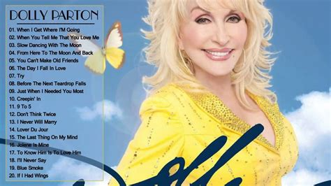 dolly parton songs dolly parton greatest hits dolly parton best songs full album by country music youtube