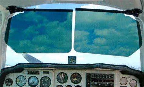 bonanzabaron adjustable sun visors  aircraft spruce