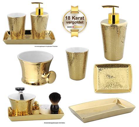 bad accessoires gold kosmetikexpertin de bad accessoires badserie gold shadow kosmetex porzellan gold mit 18 karat