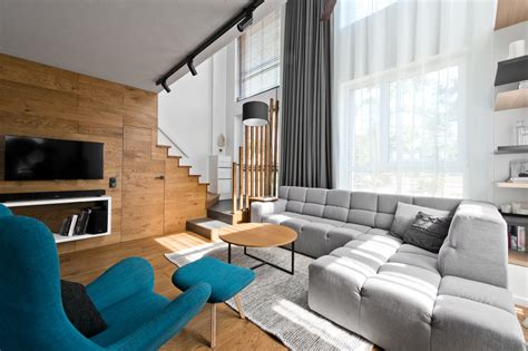 Chic Scandinavian Studio With Lofted Bed : A Cozy, Scandinavian-inspired Loft In Lithuania