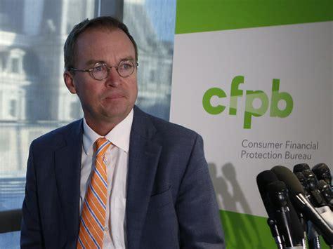 consumer fraud bureau administration 39 s strike on cfpb budget cuts