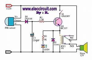 476 Motion Detector Wiring Diagram