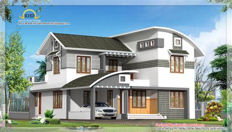 Contemporary Villa design - 2515 Sq. Ft - Kerala home