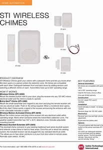 Sti Wireless Chimes 3353