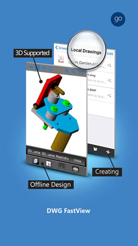 dwg fastview cad drawing  viewer  iphone
