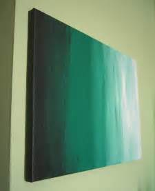 DIY Abstract Canvas Painting