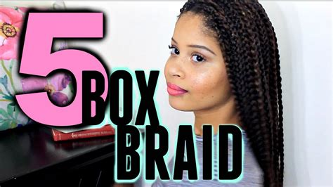 box braid hairstyles youtube