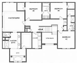 House 29331 blueprint details floor plans for Blueprints to a house