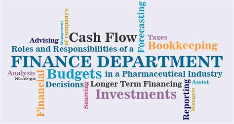 bureau of finance roles and responsibilities of a finance department in a
