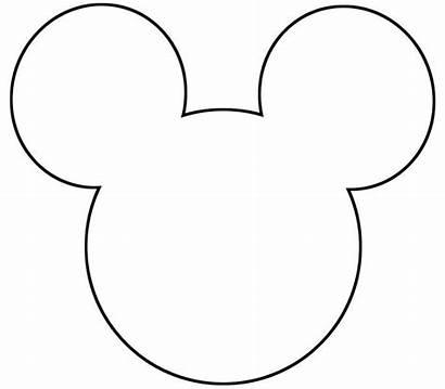 Mickey Mouse Printable Silhouette Plantillas