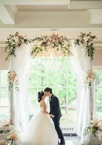 Deco Mariage Romantique : 1001 id es pour une arche de mariage romantique et l gante ~ Nature-et-papiers.com Idées de Décoration