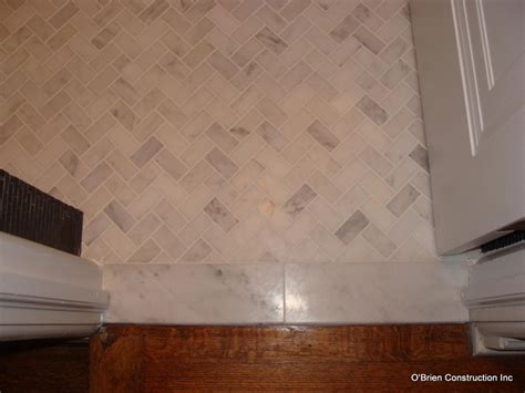 bathroom threshold question fox and other remodelaholics