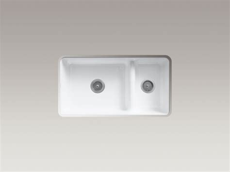 kohler iron tones smart divide sink standard plumbing supply product kohler k 6625 ff iron