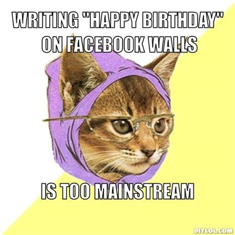 Meme Generator Birthday - kitten birthday meme