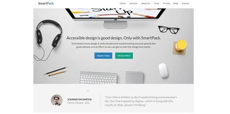 Trap 10 5 Template by 15 Best Html5 Mobile Templates