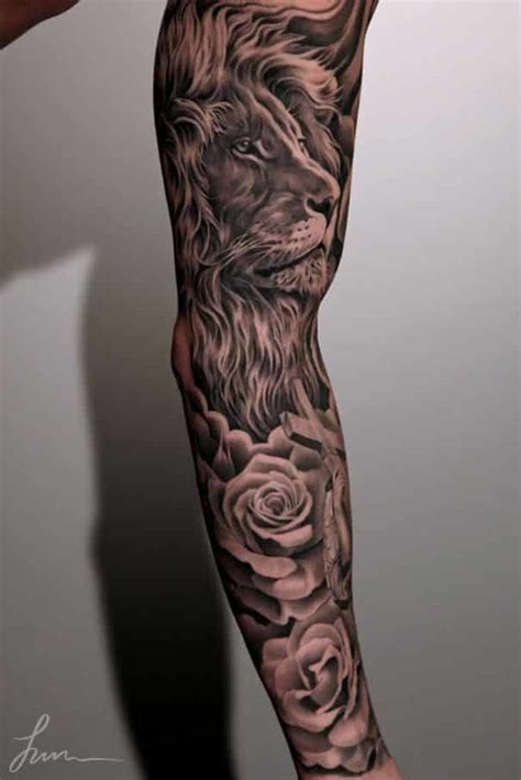 Smashing Pumpkins Heart Tattoo lion tattoos for men ideas and image gallery for guys