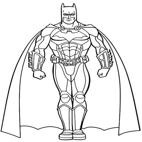 disegni da colorare batman e disegni di