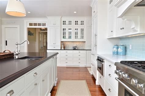 hanging cabinet kitchen cape cod shingle style home traditional kitchen 1558