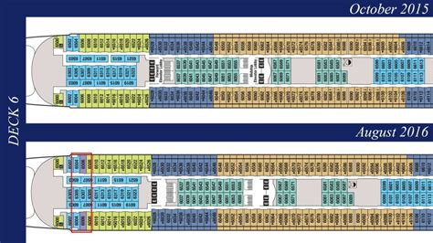 Disney Deck Plan Deck 6 by Revised Deck Plans Reveal Additional Disney