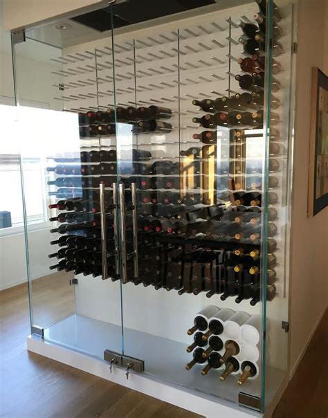 best 25 glass wine cellar ideas on modern