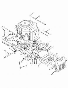 Cub Cadet Parts On The Engine Accessories Diagram For Gt