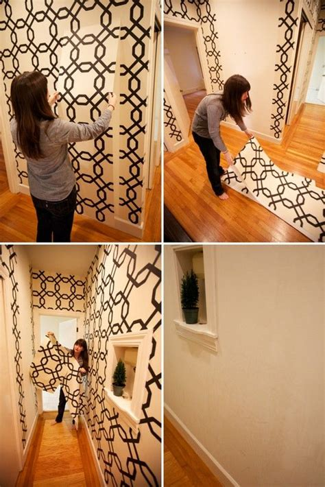 home decorating ideas  removable wall paper