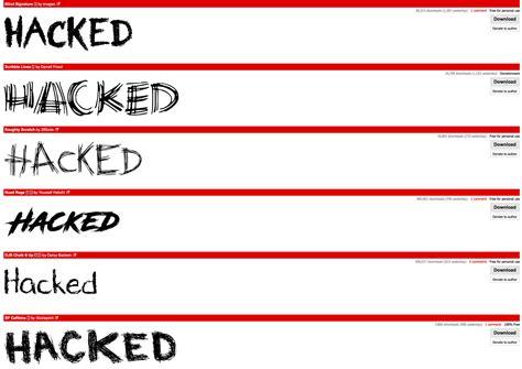 dafont hacked accounts  passwords stolen news