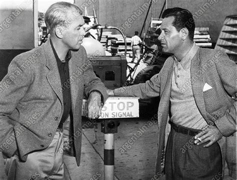 William Holden And James Stewart Behind The Scenes (1956