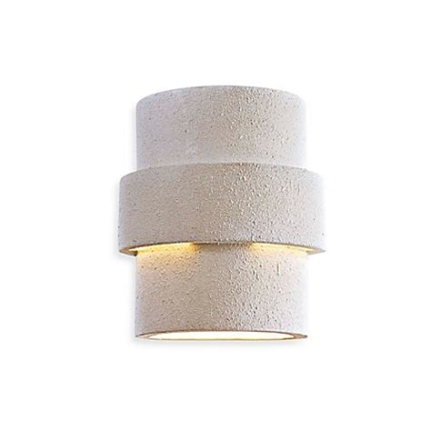 minka lavery 174 ceramic 1 light outdoor wall sconce in white