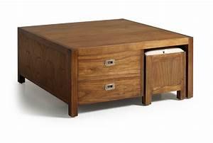 Table Basse Pouf Intégré : table 2 en 1 avec poufs int gr s ~ Dallasstarsshop.com Idées de Décoration