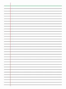 related keywords suggestions for lined paper a4 template With notebook paper template for word 2010