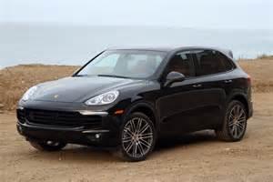 2015 Porsche Cayenne Black