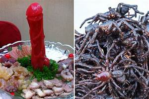 Most disgusting food in the world: Human flesh, penises ...